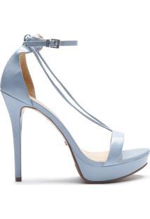 Sandália Thin Strap Stiletto Jeans   Schutz