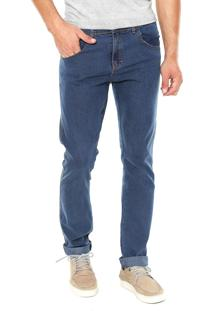 Calça Jeans Fiveblu Reta Brighton Azul