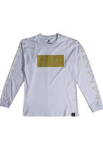 Camiseta Future Neon Wave Branca