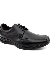 Sapato Social Democrata Air Spot - Masculino-Preto