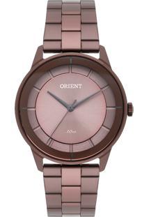 Relógio Orient Feminino Unique Analógico Marrom Fmss0002-N1Nx - Kanui