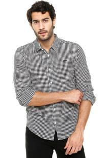 Camisa Sommer Xadrez Cinza