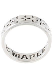 Maple Anel Com Logo Bandana - Prateado