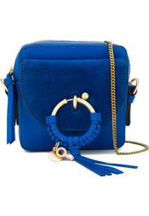See By Chloé Bolsa Tiracolo Joan Pequena - Azul