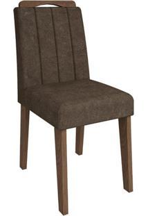 Cadeira Elisa Cacau Savana