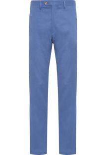 Calça Masculina Linho - Azul