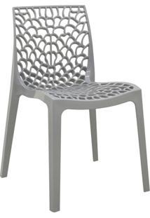 Cadeira Gruv -Rivatti - Cinza