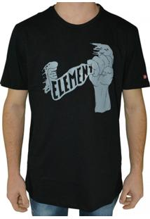 Camiseta Element Fist Of Fury - Masculino
