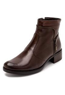 Bota Sandalo Feminina Clave De Fa Sitar Brown