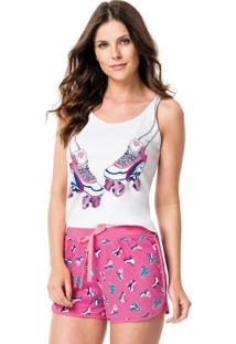 Pijama Feminino Adulto Malwee Liberta