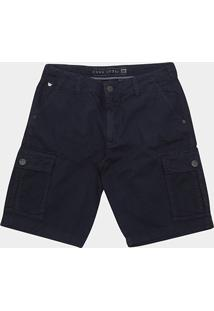 Bermuda Jeans Hang Loose Bolso Faca Masculina - Masculino