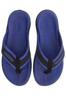 Chinelo Olympikus 921 - Masculino - Azul/Preto