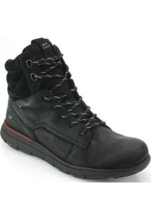 Bota West Coast Rodeo Brush - Masculino-Preto