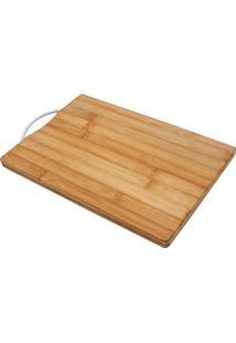 Tabua Gourmet De Bambu, Com Alça