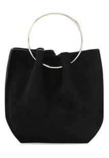 The Row Micro Top-Handle Bag - Preto
