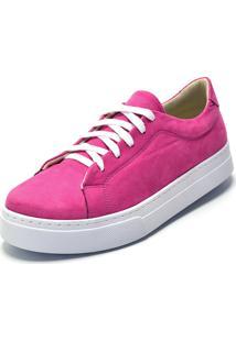 Tênis Calzaph Camurça Pink