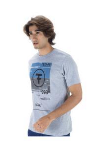 Camiseta Fatal Estampada 22109 - Masculina - Cinza