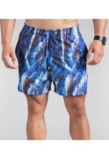 Short Praia Surty Resort Masculino - Masculino-Azul Royal