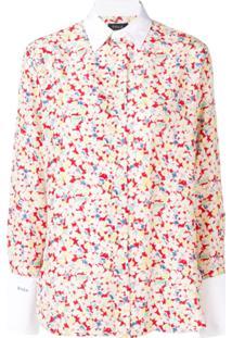 Polo Ralph Lauren Sakura Print Shirt - Branco