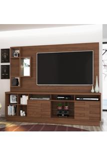 Estante Para Tv Heitor 633020 Castanho - Madetec