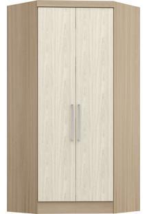 Modulo De Closet Com 2 Porta E 2 Gavetas Infinity 3806A-Castro Móveis - Nogueira / Nudi