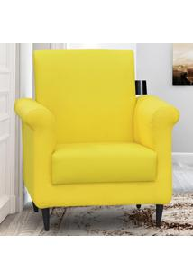 Poltrona Betina 00192.0284 Amarelo - Matrix