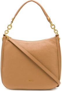 Furla Classic Shoulder Bag - Marrom