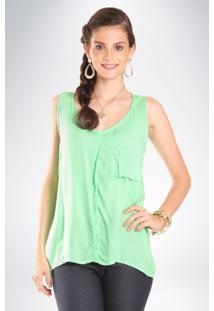 Camisa Mercatto Lisa Verde