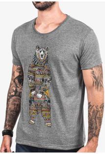 Camiseta Ethnic Bear 103437