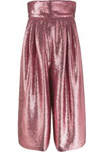 Marc Jacobs Calça Pantalona - Rosa