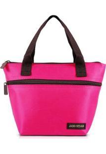 Bolsa Térmica Jacki Design Com Alça - Unissex-Pink