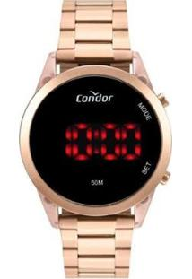 Relógio Condor Cojhs31Baj/7J - Digital Feminino - Feminino-Rosa