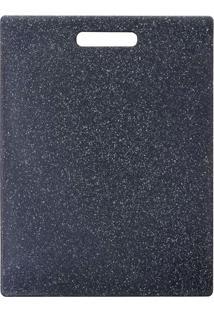 Tábua De Corte Em Pvc Black 36 X 27 Cm