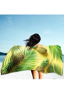 Toalha De Praia / Banho Abacaxis