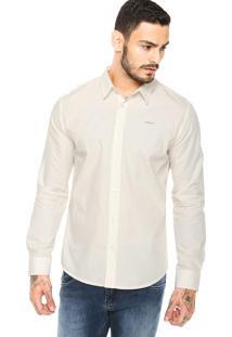 Camisa Colcci Logo Off-White