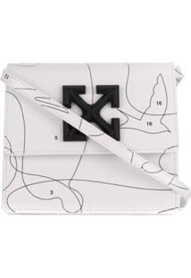 Off-White Bolsa Transversal Puzzle Jitney 0.7 - Branco