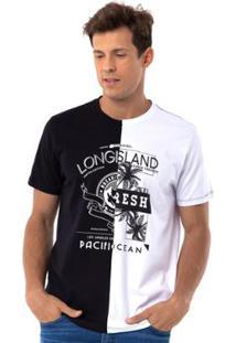 Camiseta Long Island Half - Masculino