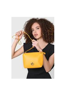 Bolsa Dumond Logo Amarela