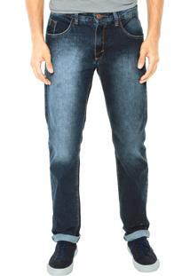 Calça Jeans Fiveblu Regular Takeside Azul