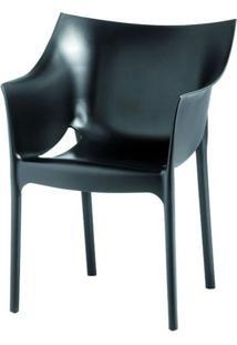 Cadeira Tais Curitiba Polipropileno Preto - 11380 - Sun House