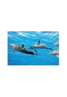 Painel Adesivo De Parede - Golfinhos - 061Pn-M