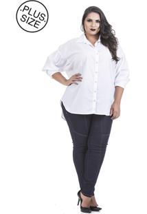 Camisa Manga Longa Talento Branco