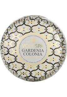 Vela Lata 2 Pavios 50H Gardenia Colonia - Unissex