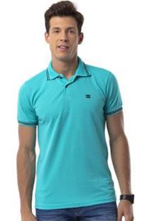 Camisa Polo Long Island Tj - Masculino-Verde