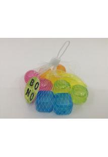 Cubos Plásticos Coloridos Para Gelar Bebidas Com 10 Unidades 16587-1