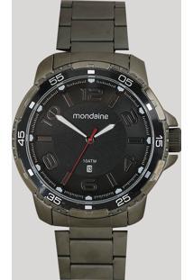 Relógio Analógico Mondaine Masculino - 53703Gpmvse1 Preto - Único