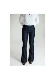 Calça Jeans Microflare - Bruxelas Multicolorido