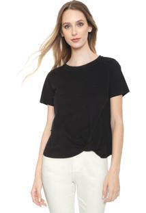 Camiseta Calvin Klein Pérolas Preta
