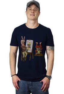 Camiseta Perplex King Card Azul