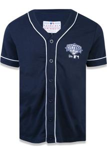 Camisa New Era Manga Curta New York Yankees Marinho